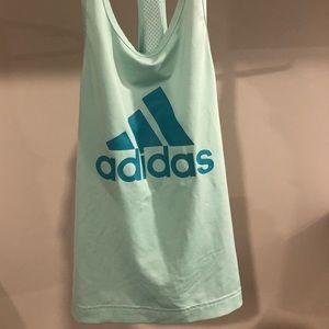 Adidas mesh back tank top